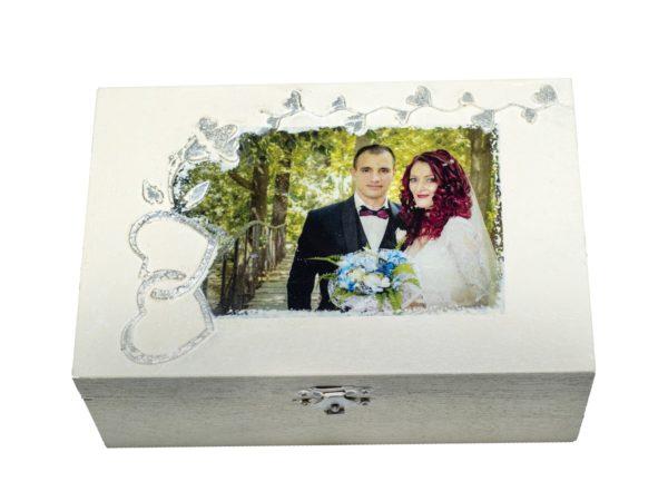 Кутия за бижута с Ваша снимка