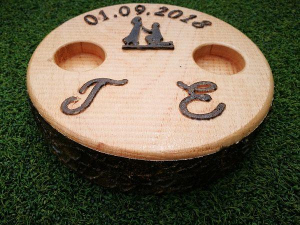 Кутия за сватбени пръстени