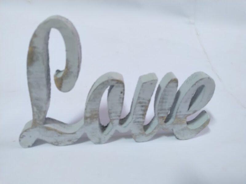 LOVE - винтидж стил