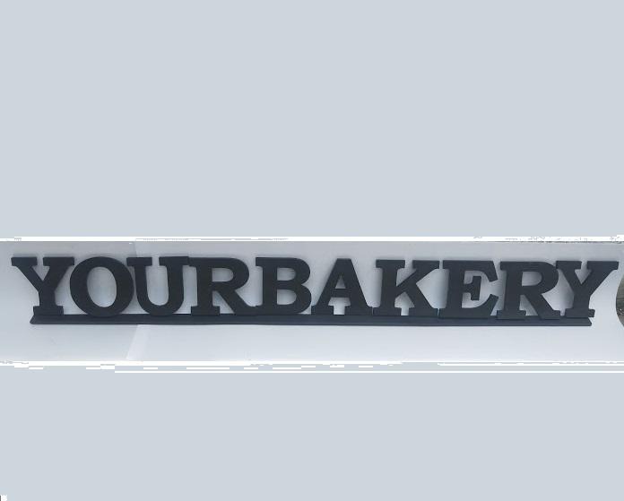 обемни букви за реклама